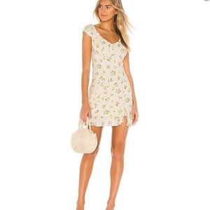FREE PEOPLE Like A Lady Mini Dress